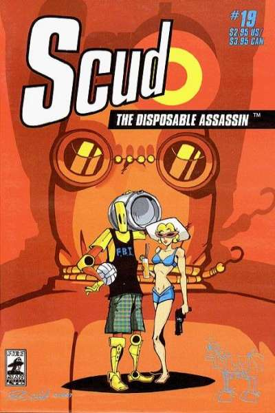 Scud: The Disposable Assassin #19 comic books for sale