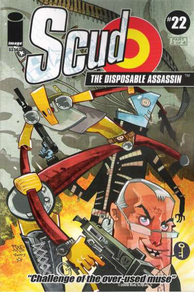 Scud: The Disposable Assassin #22 Comic Books - Covers, Scans, Photos  in Scud: The Disposable Assassin Comic Books - Covers, Scans, Gallery