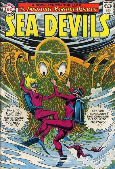 Sea Devils #17 Comic Books - Covers, Scans, Photos  in Sea Devils Comic Books - Covers, Scans, Gallery