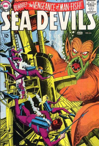Sea Devils #24 Comic Books - Covers, Scans, Photos  in Sea Devils Comic Books - Covers, Scans, Gallery