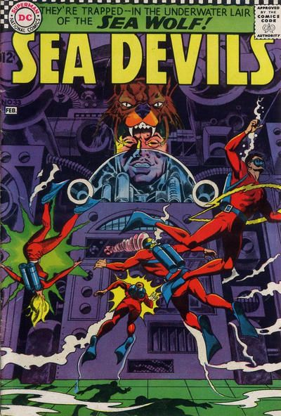 Sea Devils #33 comic books for sale