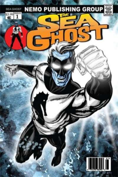 Sea Ghost #1 comic books - cover scans photos Sea Ghost #1 comic books - covers, picture gallery