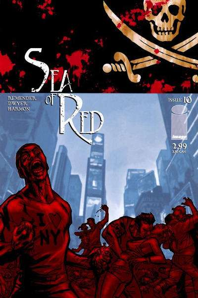 Sea of Red #10 comic books for sale