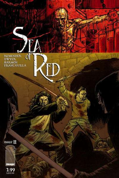 Sea of Red #11 Comic Books - Covers, Scans, Photos  in Sea of Red Comic Books - Covers, Scans, Gallery