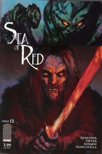 Sea of Red #12 comic books for sale
