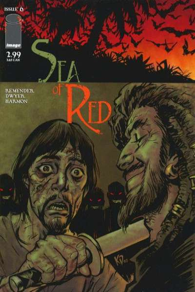 Sea of Red #6 Comic Books - Covers, Scans, Photos  in Sea of Red Comic Books - Covers, Scans, Gallery