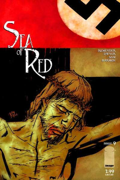 Sea of Red #9 comic books for sale