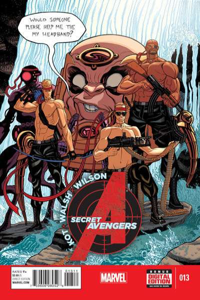Secret Avengers #13 comic books for sale