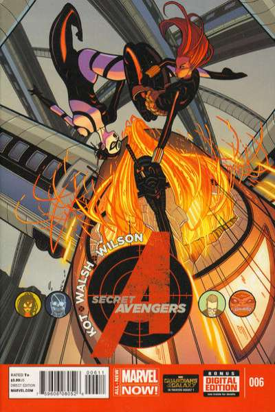 Secret Avengers #6 comic books for sale
