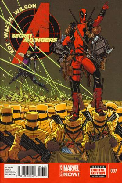 Secret Avengers #7 comic books for sale
