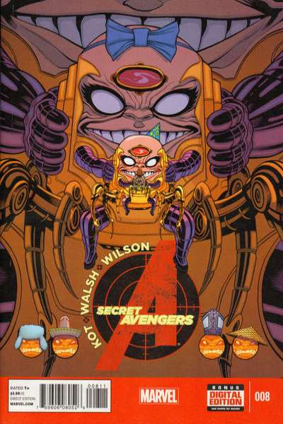 Secret Avengers #8 comic books for sale