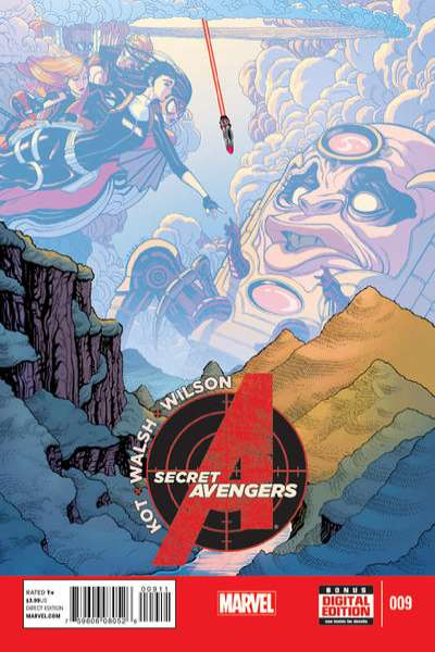 Secret Avengers #9 comic books for sale