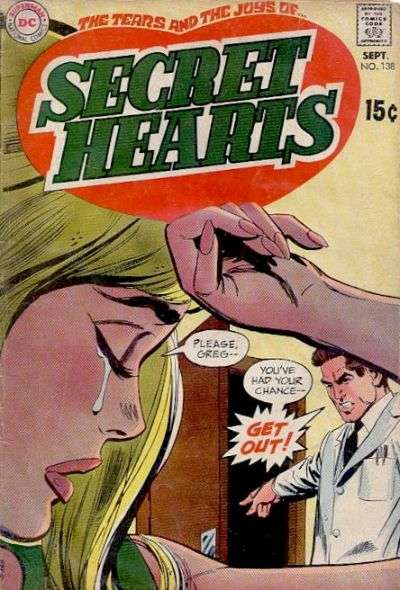 Secret Hearts #138 comic books for sale