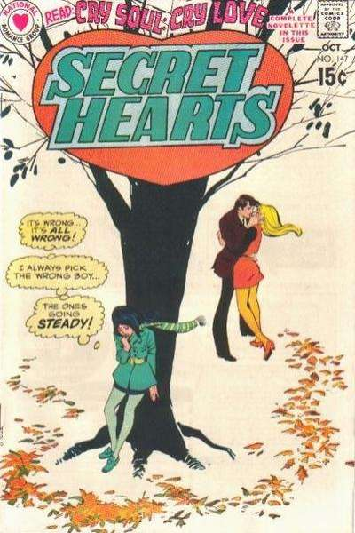 Secret Hearts #147 comic books for sale