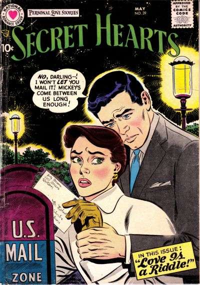 Secret Hearts #39 comic books for sale
