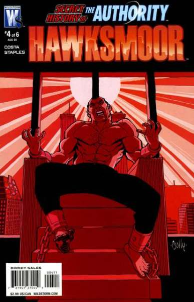 Secret History of the Authority: Jack Hawksmoor #4 comic books for sale