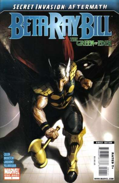 Secret Invasion Aftermath: Beta Ray Bill - The Green of Eden #1 comic books for sale