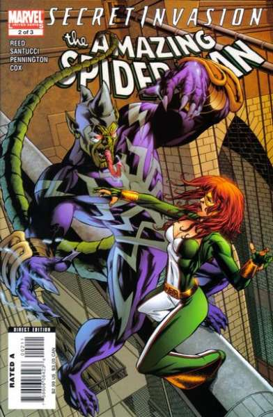 Secret Invasion: Amazing Spider-Man #2 Comic Books - Covers, Scans, Photos  in Secret Invasion: Amazing Spider-Man Comic Books - Covers, Scans, Gallery