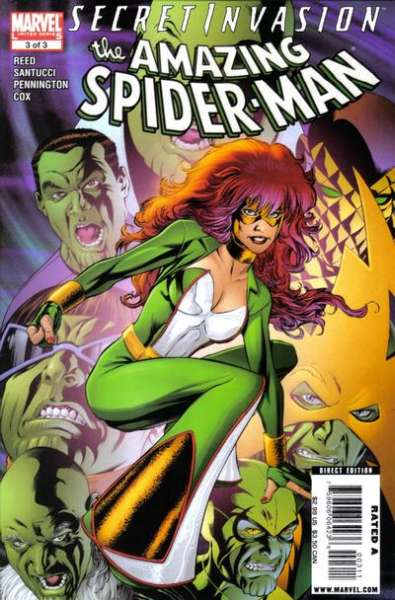 Secret Invasion: Amazing Spider-Man #3 Comic Books - Covers, Scans, Photos  in Secret Invasion: Amazing Spider-Man Comic Books - Covers, Scans, Gallery