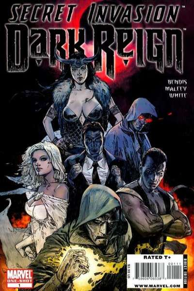 Secret Invasion: Dark Reign #1 comic books - cover scans photos Secret Invasion: Dark Reign #1 comic books - covers, picture gallery