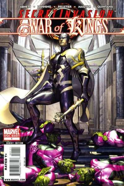 Secret Invasion: War of Kings comic books