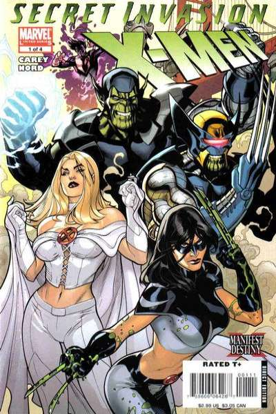 Secret Invasion: X-Men #1 Comic Books - Covers, Scans, Photos  in Secret Invasion: X-Men Comic Books - Covers, Scans, Gallery