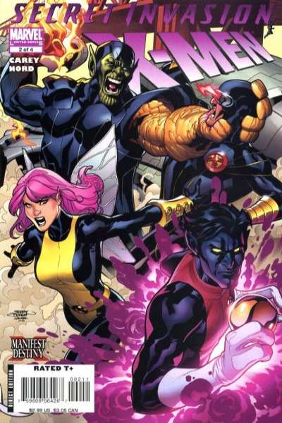 Secret Invasion: X-Men #2 comic books for sale
