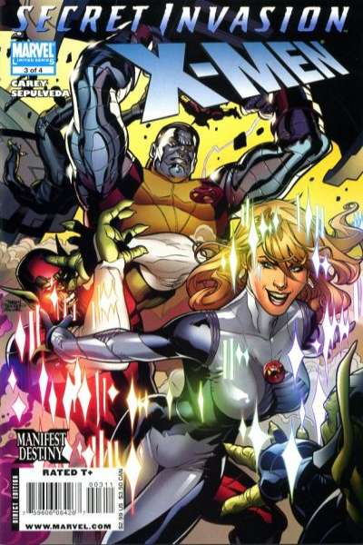 Secret Invasion: X-Men #3 comic books for sale