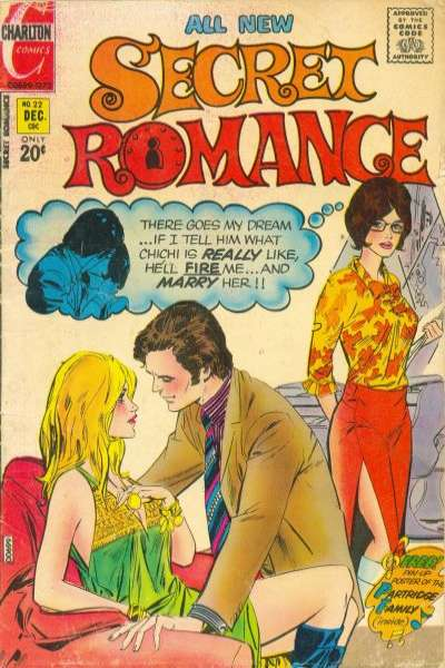 Secret Romance #22 Comic Books - Covers, Scans, Photos  in Secret Romance Comic Books - Covers, Scans, Gallery