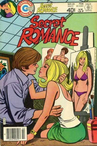 Secret Romance #48 Comic Books - Covers, Scans, Photos  in Secret Romance Comic Books - Covers, Scans, Gallery