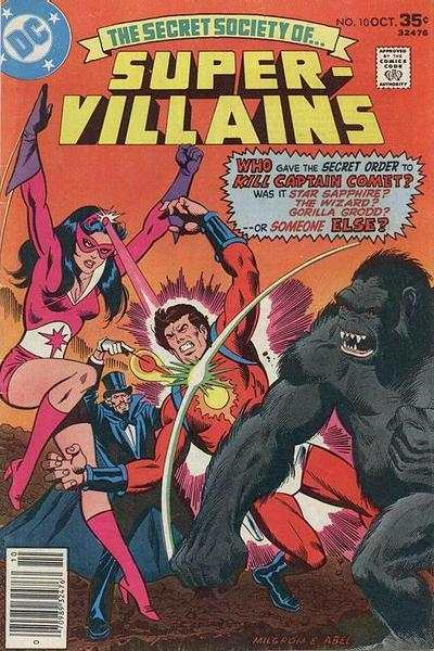 Secret Society of Super-Villains #10 comic books for sale