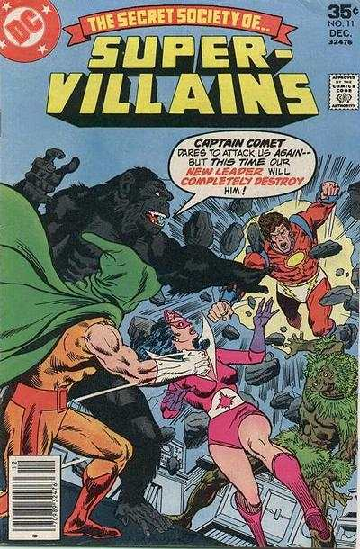 Secret Society of Super-Villains #11 comic books for sale