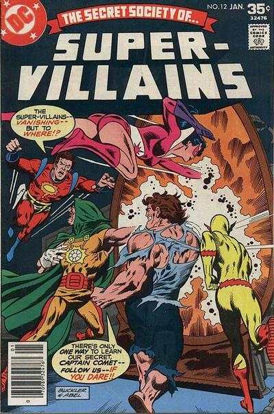 Secret Society of Super-Villains #12 Comic Books - Covers, Scans, Photos  in Secret Society of Super-Villains Comic Books - Covers, Scans, Gallery