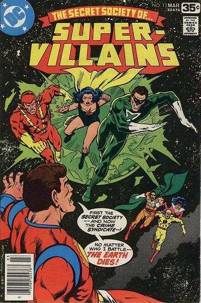 Secret Society of Super-Villains #13 comic books for sale