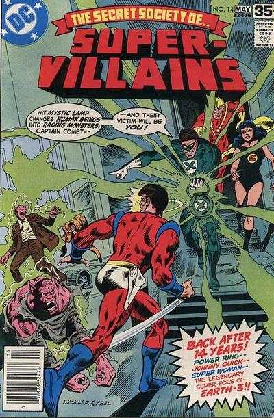 Secret Society of Super-Villains #14 comic books for sale