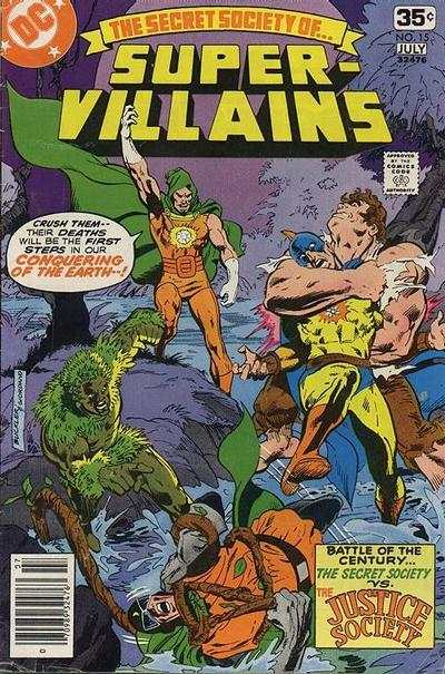 Secret Society of Super-Villains #15 comic books for sale