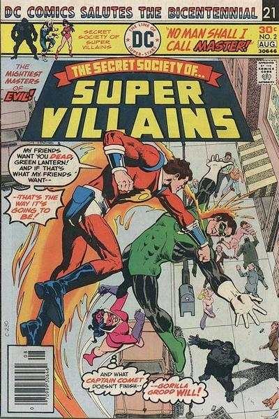 Secret Society of Super-Villains #2 comic books for sale