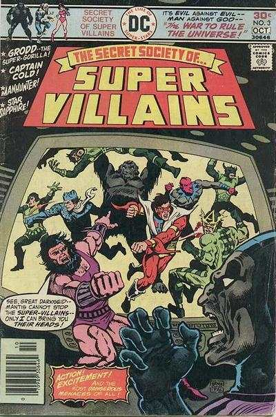 Secret Society of Super-Villains #3 comic books - cover scans photos Secret Society of Super-Villains #3 comic books - covers, picture gallery