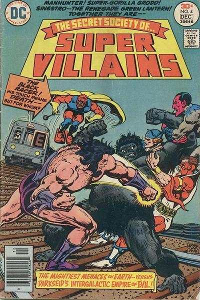 Secret Society of Super-Villains #4 comic books for sale