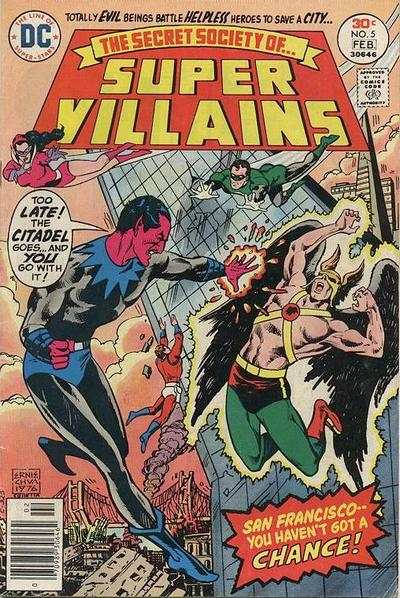 Secret Society of Super-Villains #5 comic books - cover scans photos Secret Society of Super-Villains #5 comic books - covers, picture gallery