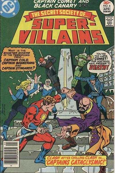 Secret Society of Super-Villains #6 comic books - cover scans photos Secret Society of Super-Villains #6 comic books - covers, picture gallery