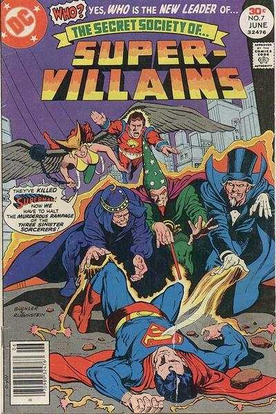 Secret Society of Super-Villains #7 comic books for sale
