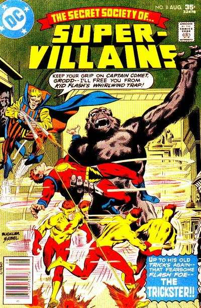 Secret Society of Super-Villains #8 comic books for sale