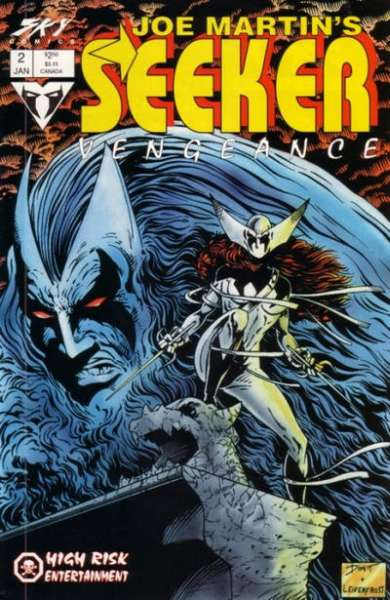 Seeker: Vengeance #2 comic books for sale