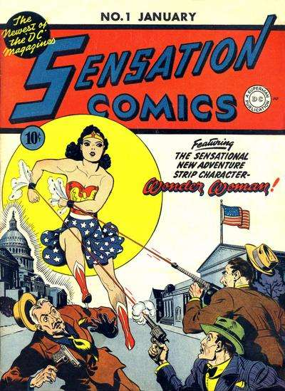 Sensation Comics comic books