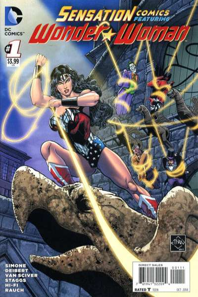 Sensation Comics featuring Wonder Woman Comic Books. Sensation Comics featuring Wonder Woman Comics.