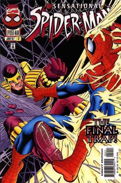 Sensational Spider-Man #12 Comic Books - Covers, Scans, Photos  in Sensational Spider-Man Comic Books - Covers, Scans, Gallery