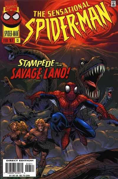 Sensational Spider-Man #13 Comic Books - Covers, Scans, Photos  in Sensational Spider-Man Comic Books - Covers, Scans, Gallery