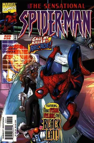 Sensational Spider-Man #30 Comic Books - Covers, Scans, Photos  in Sensational Spider-Man Comic Books - Covers, Scans, Gallery