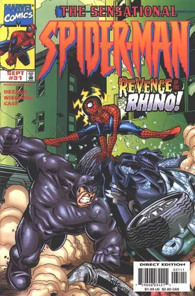 Sensational Spider-Man #31 Comic Books - Covers, Scans, Photos  in Sensational Spider-Man Comic Books - Covers, Scans, Gallery
